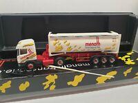 Scania << menath transporte 78652 Deißlingen >> 30 FT Druck Kipp-Silo-Container