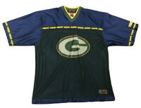 RARE Men's BET Sports Green Bay Packers NFL Jersey Sz XL Limited Edition Blue