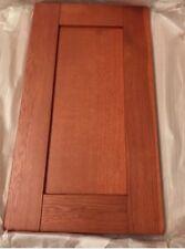 Pair (2) Solid Cherry Shaker Kitchen Cabinet Doors Solid Wood 720 x 300 Silk