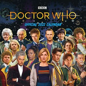 Doctor Who 2022 Square Wall Calendar