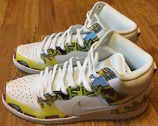 Nike SB Dunk De La Soul DLS Skateboarding shoes size 14 FIREFLY New BMX  Skate