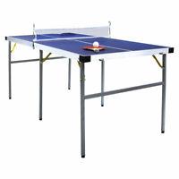 Charles Bentley Junior 1/2 Table Tennis Made of MDF & Metal - Folding