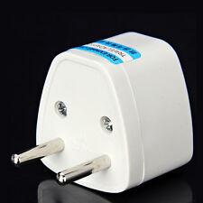 UK US AU to EU Travel Converter AC Power Plug Power Charger  Adapter js