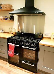 0.9mm Satin Stainless Steel Cooker Splashback Brushed Kitchen Hob Back Plate