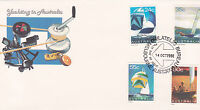 1981 Yachting in Australia FDC - Melbourne Philatelic Bureau PMK