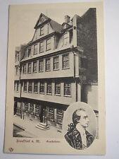 Frankfurt am Main - Goethehaus - Goethe / AK