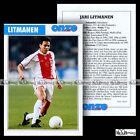 LITMANEN JARI (AJAX AMSTERDAM) - Fiche Football / Voetbal 1999