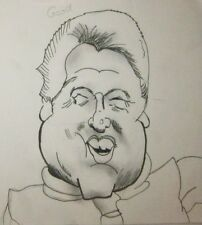 Caricature - Style Drawing of Bill Clinton