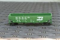 Vintage HO Scale Freight Car Burlington Northern Green Hopper Empty