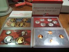 2009 Silver Proof Set Beautiful 18 coin Set with Cert. and Box