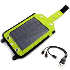 Impermeable Panel Solar 2.5W con PowerBank 3000mAh USB Li-Poly GRATIS PowerNeed