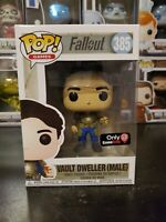 Funko Pop! Fallout Vault Dweller Male #385 Gamestop Exclusive WITH PROTECTOR!