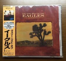 EAGLES / The Very Best of The Eagles CD w/OBI Joe Walsh Rock Japan