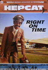 HEPCAT, RIGHT ON TIME POSTER (E4)