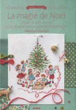 Livre  point de croix,Noël au point de croix  de V. Enginger