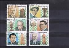 Serie gestempeld Saharaui 1999: Schaken / Chess (div005)