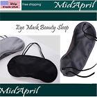 Eye Mask Beauty Sleep Satin Light Blocker Sensual Blindfold Day Night Relaxing