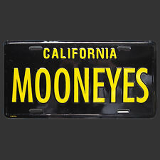 Black Moon Liscense Plate Hot rod hotrod custom sled ford chevy license rat gto