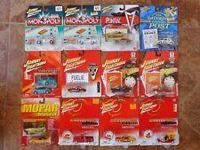 Johnny Lightning Assorted 1:64 Lot of 12- Mustang, Corvette, Chevy, GTO, VW+