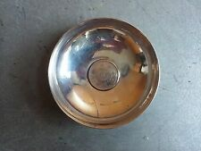 Silver saucer with Japan 1924 silver coin