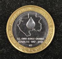 West Africa Gabon Coin 4500 CFA 2005 UNC