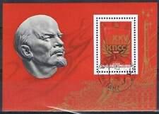 CCCP / USSR gestempeld 1976 Blok 108 - Partijdag