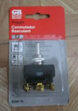 Gardner Bender GSW-16 Toggle Switch, 61X5 Special Use Switch, new