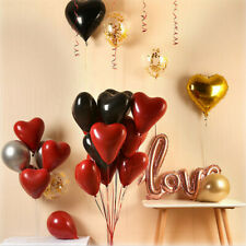50 Heart Shape I Love You Balloons Valentines Day Mothers Day Romantic Baloons