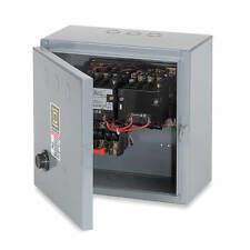 SQUARE D 208VAC Coil Volts NEMA Starter, 18 AMP, Model 8736SBG4V08H20