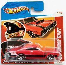 Modellini statici di auto , furgoni e camion Hot Wheels dodge , Scala 1:64