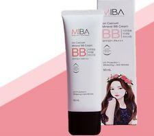 MiBa Ion Calcium Mineral BBCream Hong JinYoung Sunscreen SPF50+PA+++ Free simple