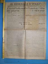 11/01/1920 IL GIORNALE D'ITALIA L'ora dell'Italia mentre l'America si ritrae 258