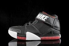 2004 Nike Zoom LeBron 2 II Black Red White Size 11.5. 309378-011 1 3 4 5 6