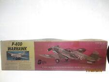 Sterling Models Inc. Kit E-4 P-40D WarHawk Balsa Wood 6 Way Kit Model Airplane