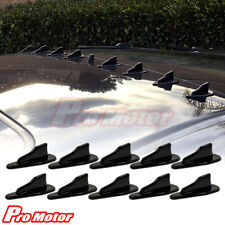 Universal EVO Flexible Air Vortex Generator Shark Fin Jet Roof Spoiler Diffuser