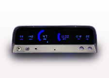 1964-1966 Chevy Truck Digital Dash Panel Blue Led Gauges Lifetime Warranty