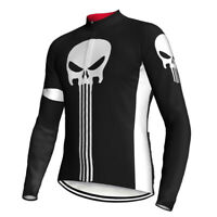 Long Cycling Jersey MTB Bike Shirt Jacket Clothing Ride Motocross Sports Ghost