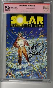 Solar Man of the Atom (1991) - CBCS 9.6 OW/White Pages - VSP Shooter & Layton