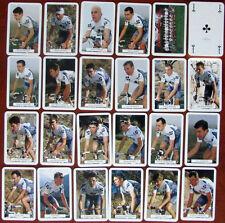 Jeu 32 cartes + Photos Équipe Cycliste professionnelle 2000 Française des Jeux