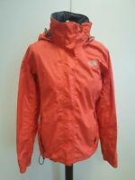 J250 WOMENS THE NORTH FACE HYVENT RED LIGHTWEIGHT HOODED JACKET UK M 10 EU 38