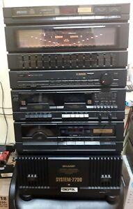 Sharp 7700 Portable Stereo System Music Center