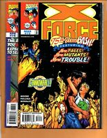 X-Force #75 & 76 2 Book Lot Burning Man festival ! Domino HIGH GRADE NM+
