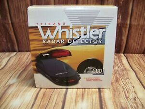 Vintage Triband Whistler #680 Radar Detector New In Original Box