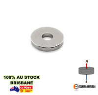 50X Ring 10mm x 1.5mm Hole 5mm N42 | Neodymium Rare Earth Disc Round Magnet