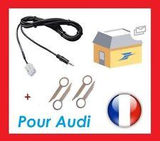 CABLE AUXILIAR MP3 AUTORRADIO AUDI A3 A4 TT BNS 5.0 et 4 llaves extracción