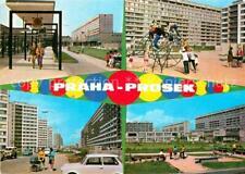 72903441 Praha Prahy Prague Prosek Siedlung Hochhaeuser Kinderspielplatz Praha