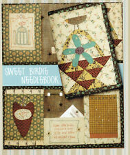 CLEARANCE - PATTERN - Sweet Birdie Needlebook - sewing accessory PATTERN