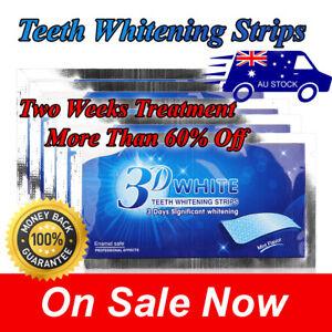 2020 3D WHITE GENTLE ROUTINE ROUTINE TEETH WHITENING EFFECT