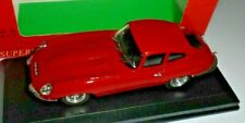 car 1/43 MODEL BEST 9012R2 JAGUAR E-TYPE COUPE 1962 RED NEW BOX