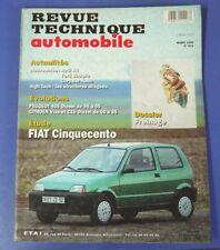 Revue technique automobile rta 571 (1995) Fiat Cinquecento